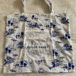 Roller Rabbit reusable bag